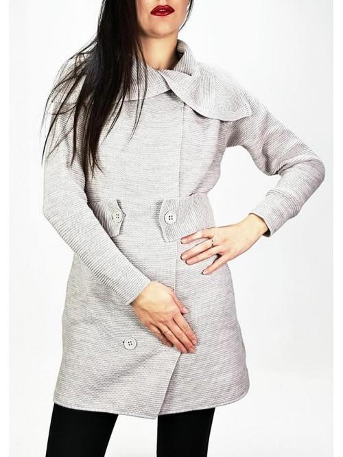 Ženski džemper na kopčanje mantil