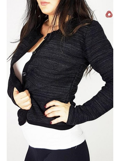 Ženski Džemper Na Kopčanje Kraći