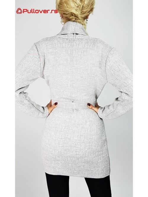 Ženski džemepr na vezivanje classic
