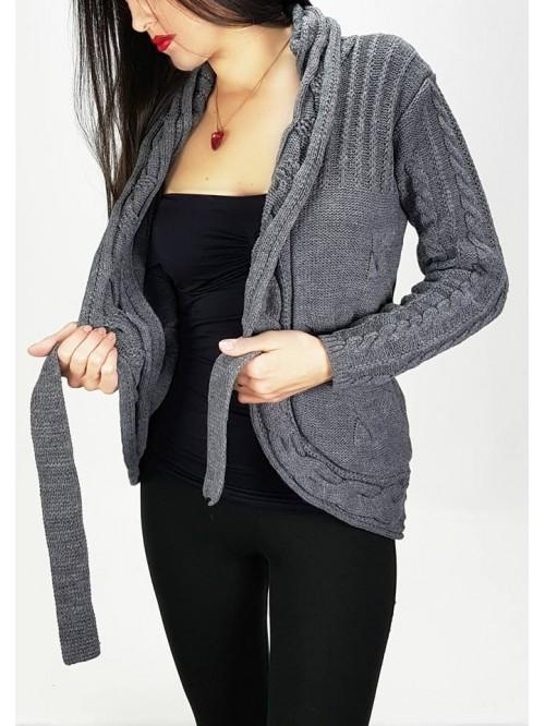Ženski džemperi pleteni kraći