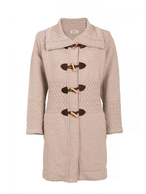 Ženska jakna pletenica